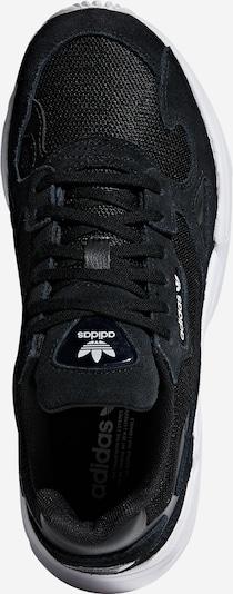 ADIDAS ORIGINALS Falcon Sportmode Sneakers Schuhe in schwarz: Draufsicht