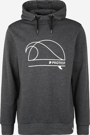 PROTEST Športna majica 'ODIN' | črna / bela barva, Prikaz izdelka