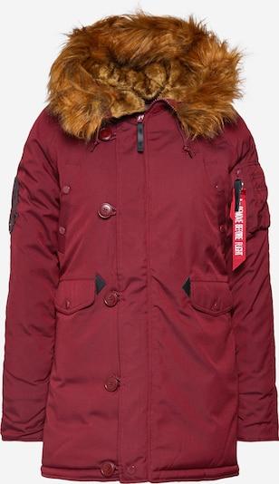 ALPHA INDUSTRIES Parka 'Explorer' in rot, Produktansicht