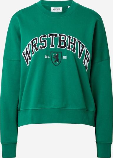 zöld / fekete / fehér Worst Behavior Tréning póló 'Berlin', Termék nézet