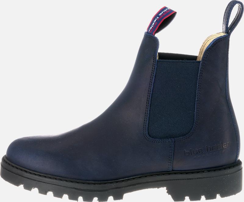 3b53e9976e3249 Blue Heeler Chelsea Boots  Meryl  in navy   rot   schwarzmeliert   weiß