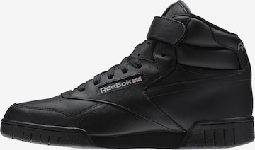 Reebok Classics Sneaker 'Ex-O-Fit Hi' in Schwarz