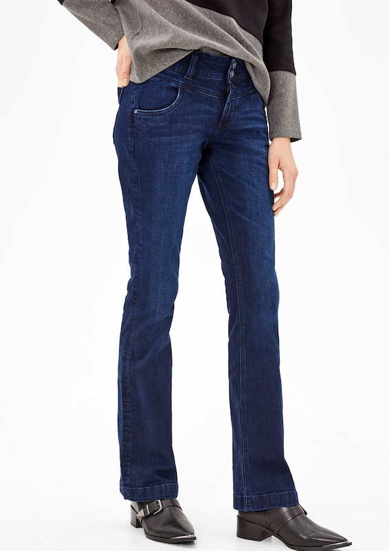 s.Oliver RED LABEL Shape Bootcut: Stretchjeans