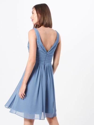 STAR NIGHT Kleid in rauchblau: Rückansicht