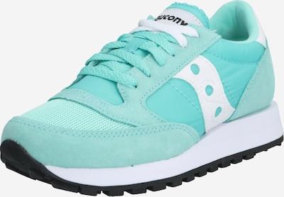 saucony Sneakers laag 'JAZZ ORIGINAL VINTAGE' in de kleur Turquoise / Wit, Productweergave