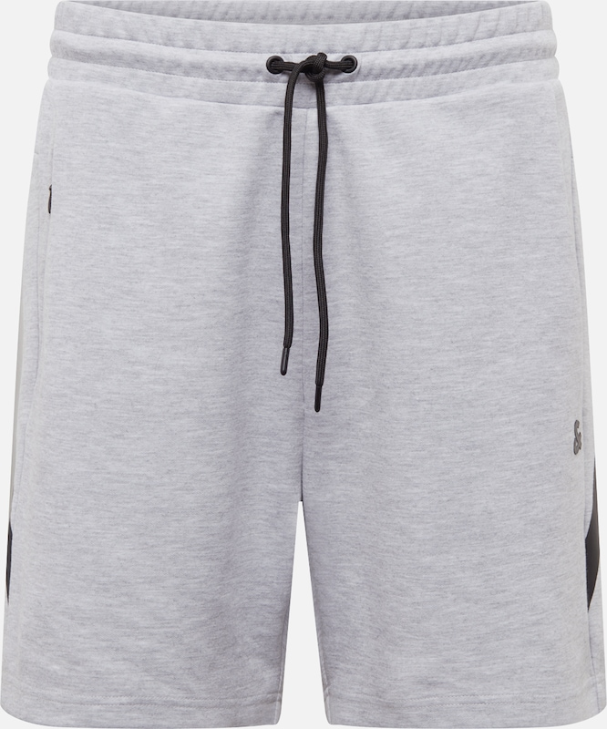 JACK & JONES Shorts in graumeliert / schwarz, Produktansicht