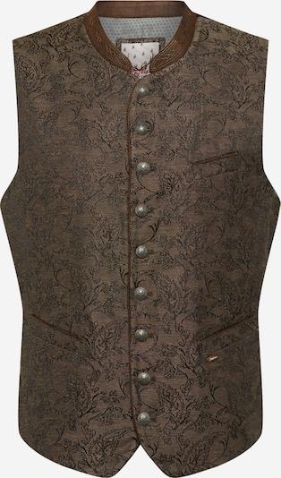 STOCKERPOINT Krojová vesta 'Pepe' - hnedá / čierna melírovaná, Produkt