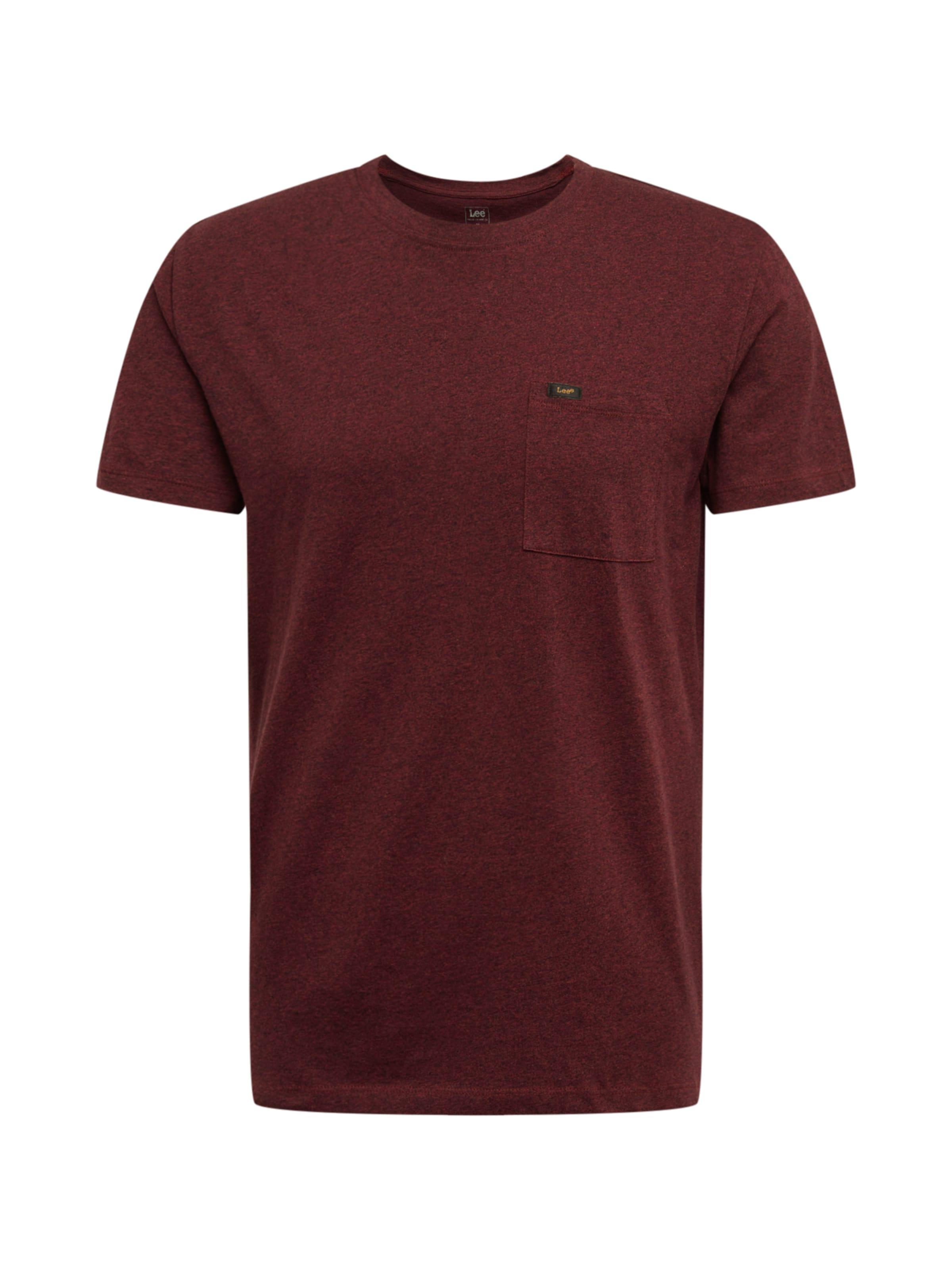 shirt Bourgogne T Pocket' En Lee 'ultimate WrCoxedB