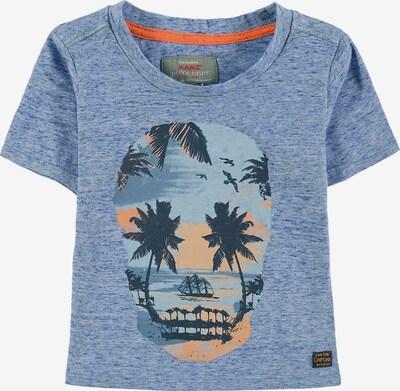 KANZ T-Shirt in blau / marine / hellblau / orange, Produktansicht