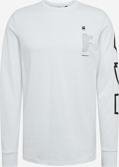 G-Star RAW Shirt 'Multi Arm GR Shield R T L\S' in de kleur Wit, Productweergave
