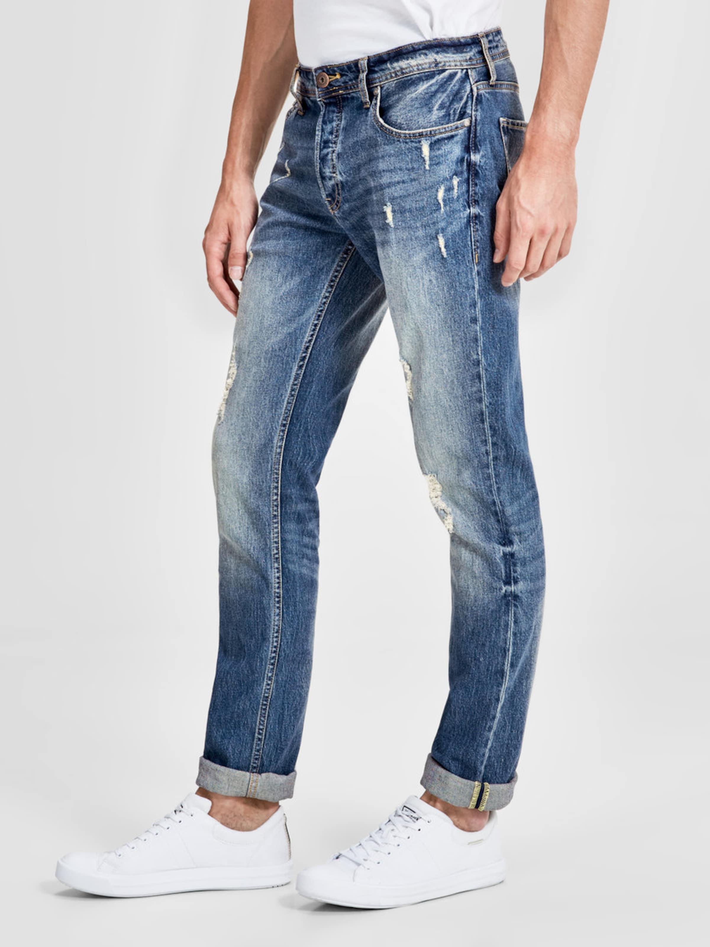 Countdown Paket Günstiger Preis Empfehlen JACK & JONES Slim Fit Jeans 'TIM ORIGINAL CR 004' Freies Verschiffen Bester Verkauf Offizielle Seite Günstig Online zQuBYt5