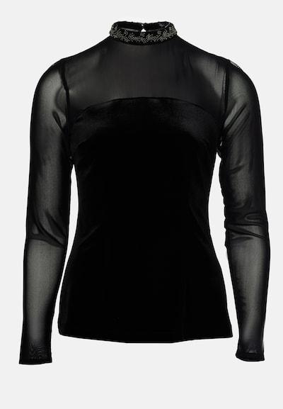 Young Couture by BARBARA SCHWARZER Oberteil in schwarz, Produktansicht