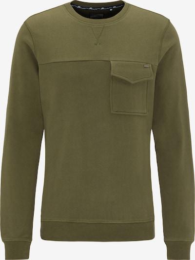 DREIMASTER Sweatshirt in khaki, Produktansicht