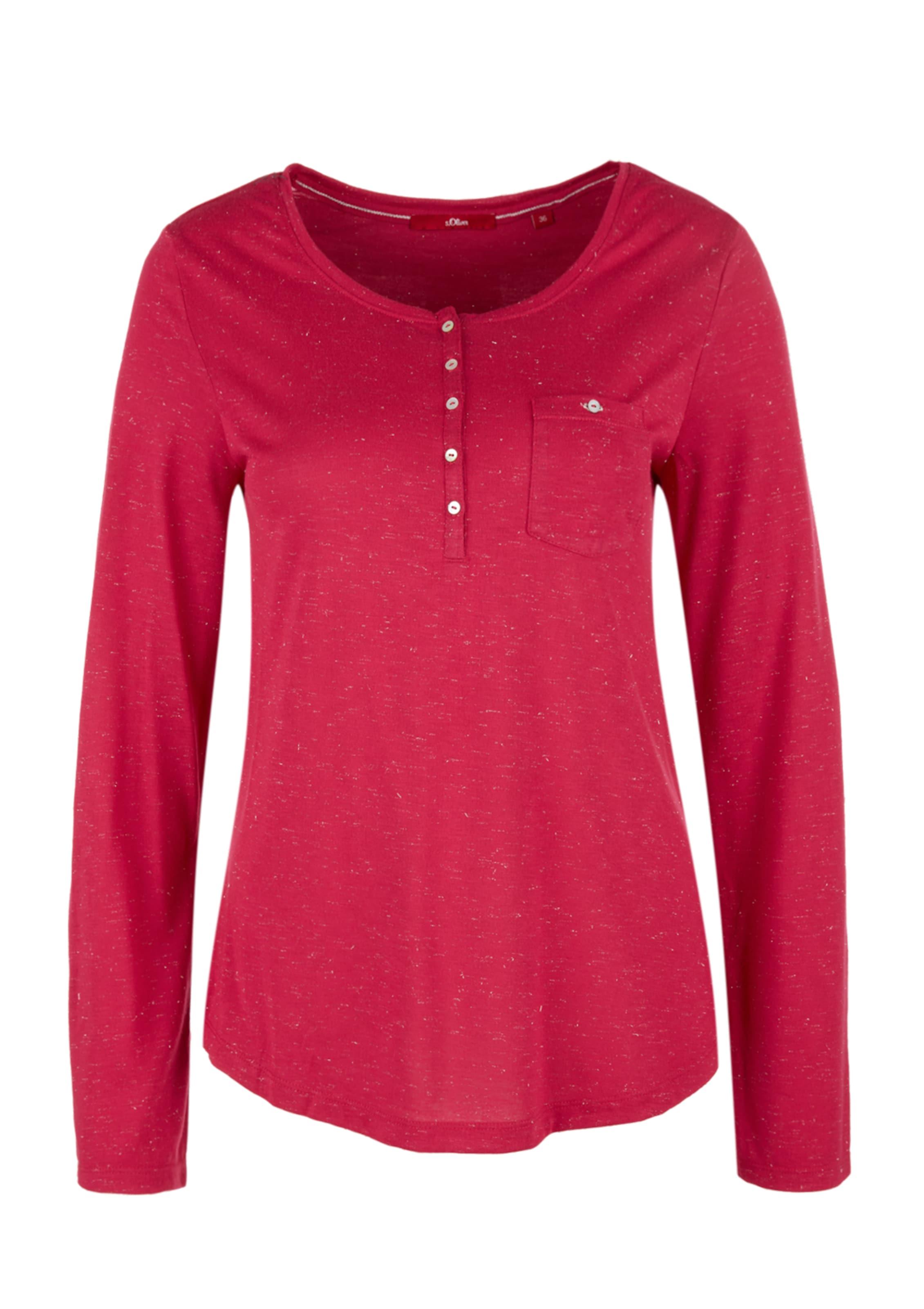 Shirt In Pitaya Red Label oliver S OkPXZui