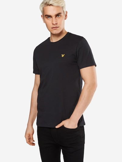 Lyle & Scott T-Shirt in schwarz: Frontalansicht