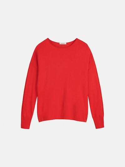 Sandwich Pullover in rot, Produktansicht