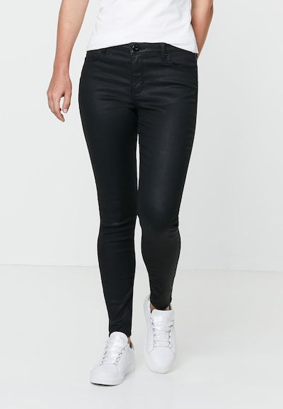 HALLHUBER Skinny 'Mia' in schwarz, Modelansicht