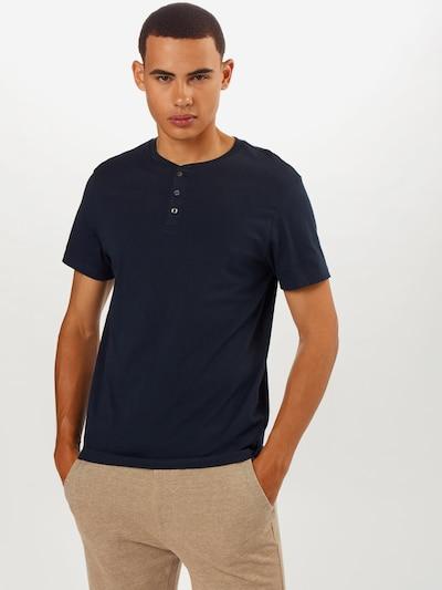 BURTON MENSWEAR LONDON T-Shirt en noir: Vue de face