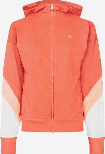 Calvin Klein Jacket in koralle / hellorange / weiß, Produktansicht