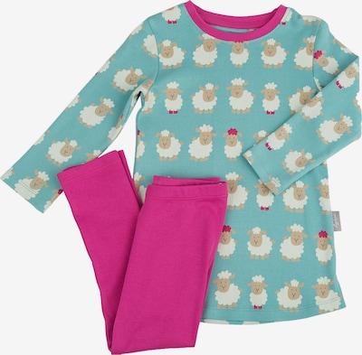SIGIKID Schlafanzug in hellblau / mischfarben / fuchsia, Produktansicht