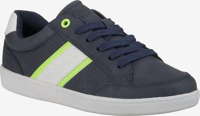 Sprox Sneakers Low für Jungen in blau / neongrün, Produktansicht