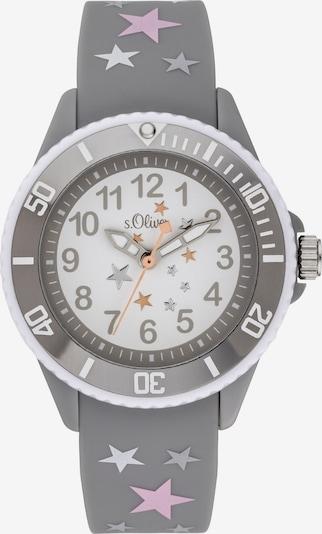 s.Oliver Uhr in grau, Produktansicht