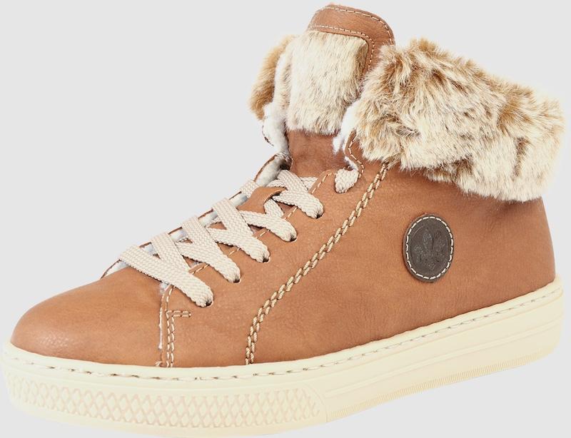RIEKER Sneaker mit warmem warmem warmem Futter c6dd6d