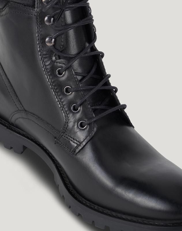 base London Schnürboots York Verschleißfeste billige Schuhe