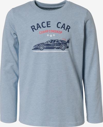 REVIEW FOR KIDS Shirt in graumeliert / mischfarben, Produktansicht