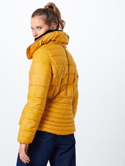 Desigual Veste d'hiver 'PADDED_SUNNA' en jaune: Vue de dos