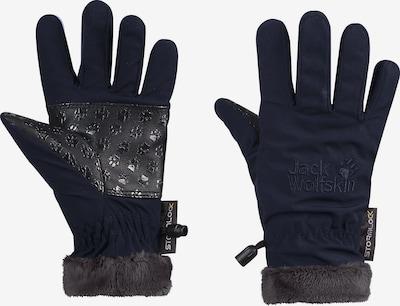 JACK WOLFSKIN Fingerhandschuhe in marine, Produktansicht