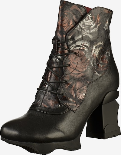 Laura Vita Stiefelette in schwarz, Produktansicht