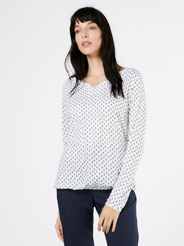 Betty & Co Shirt mit All-over-Print
