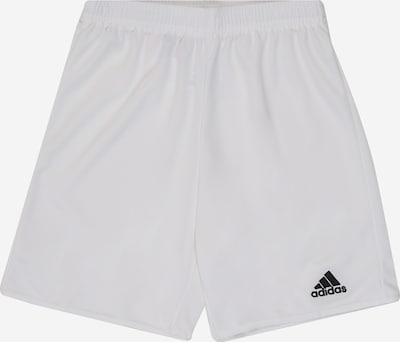 ADIDAS PERFORMANCE Pantalon de sport 'PARMA 16' en noir / blanc, Vue avec produit