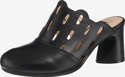 Laura Vita Clogs in schwarz, Produktansicht