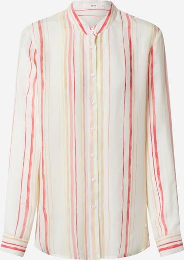 BRAX Bluse 'VAL' in gelb / koralle / weiß, Produktansicht