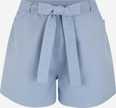 Pantaloni GLAMOROUS CURVE pe albastru fum, Vizualizare produs