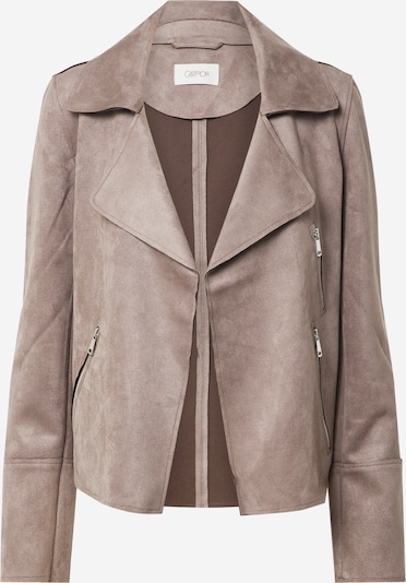 Cartoon Lederjacke in taupe, Produktansicht