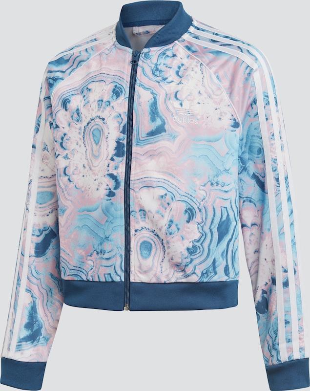 adidas jacke rosa weiß