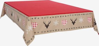 MY HOME Tischdecke in rot, Produktansicht