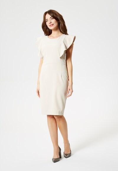 Usha Kleid in beige, Produktansicht