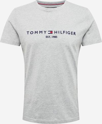 TOMMY HILFIGER Shirt in de kleur Donkerblauw / Lichtgrijs / Rood, Productweergave