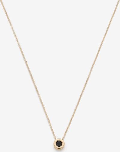 LEONARDO Kette in gold / schwarz, Produktansicht