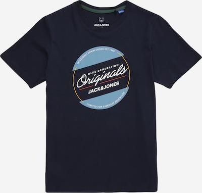 Jack & Jones Junior Tričko 'ORTONNI' - námořnická modř / světlemodrá / bílá, Produkt