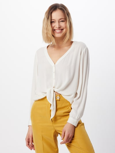 ABOUT YOU Blusen 'Dylane' in creme, Modelansicht