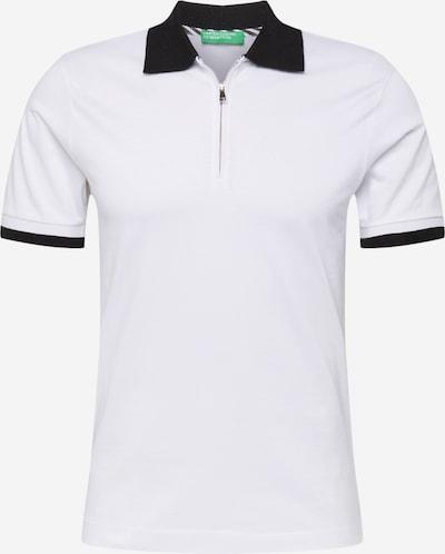 UNITED COLORS OF BENETTON Paita värissä musta / valkoinen, Tuotenäkymä