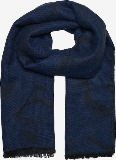 JACK & JONES Sjaal in de kleur Donkerblauw / Zwart, Productweergave