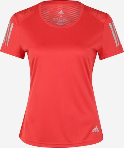 ADIDAS PERFORMANCE T-shirt fonctionnel 'OWN THE RUN TEE' en rouge, Vue avec produit