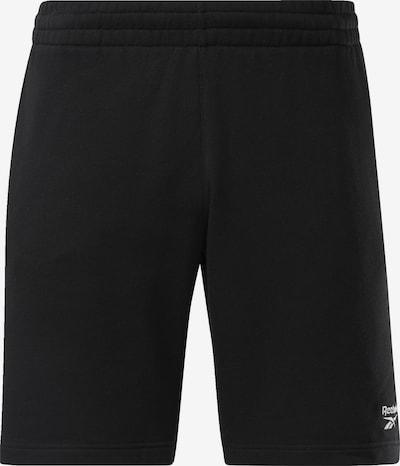 Reebok Classic Pantalon en noir, Vue avec produit