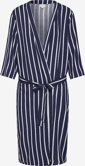 JACQUELINE de YONG Kimono 'JDYSTAR 3/4 KIMONO WVN FS' en bleu marine / blanc, Vue avec produit